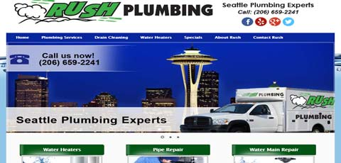 Rush Plumbing Website