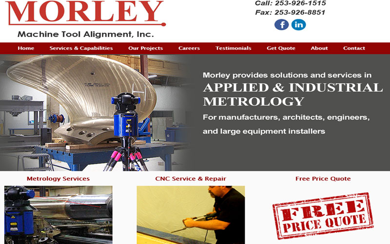 Morley Machine Tool Alignment