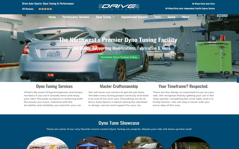 Drive Auto Sports Dyno Tuning and Detailing